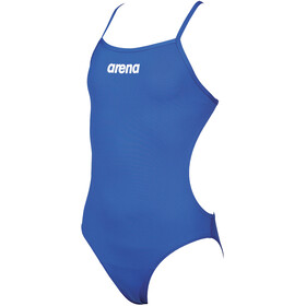 arena Solid Lighttech One Piece Badeanzug Mädchen royal/white